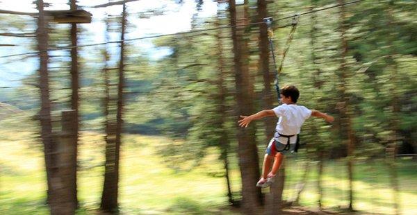 Circuit d'aventura i tirolines La Molina